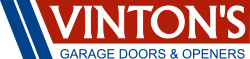 Vinton's Garage Doors and Openers logo